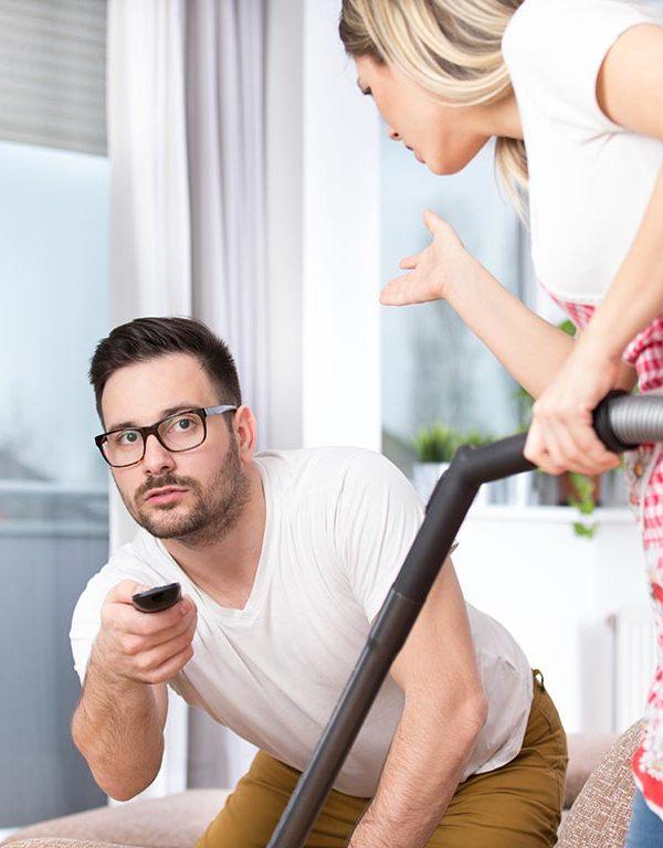 mio marito non mi aiuta