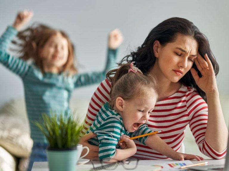 Come mantenere la calma con i bambini a casa durante la quarantena
