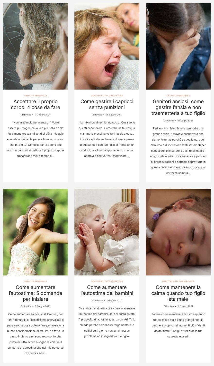 Blog sulla genitorialità